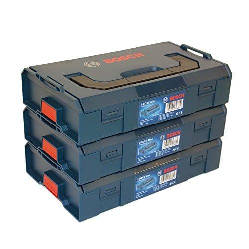 3x Bosch L-BOXX Mini Professional leer - 1600A00221